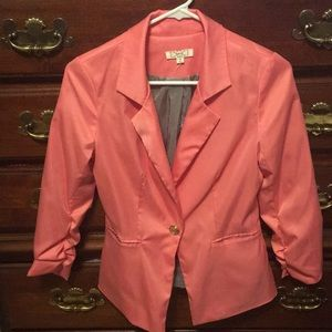 Jackets & Blazers - ❣️Super cute coral color Blazer❣️